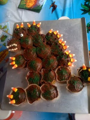 T Rex Dinosaur Cupcakes Our Gluten Free Family