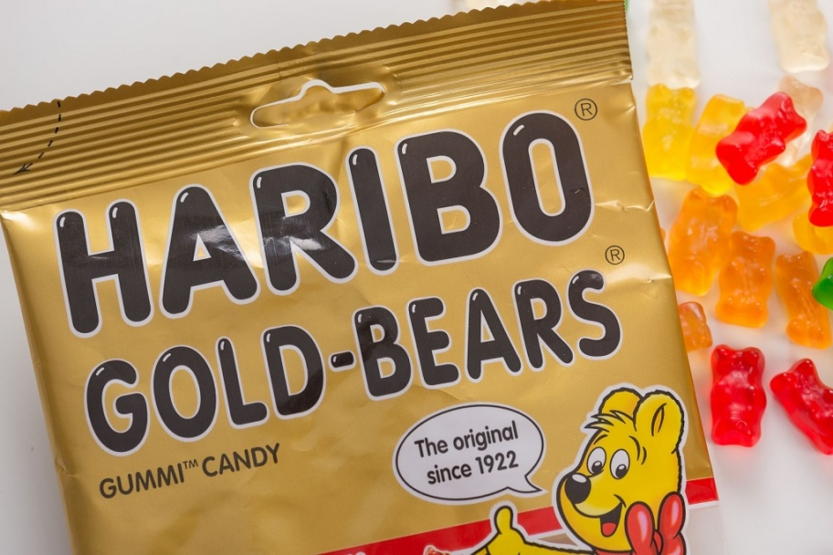 Haribo Gummy Bear Package